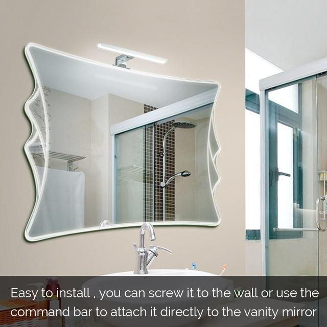 Mirror Light LED Wall Light Makeup Light Led Vanity Lights Bathroom Waterproof Make-up Wall Lamp for Mirror Kitchen Cabinet Lamp 6