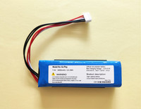 New 7.4V 3000mAh Battery for Harman Kardon Go Play Speaker Li Polymer Lithium Polymer Rechargeable Accumulator Replacement