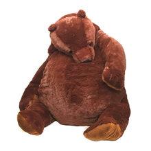 100cm kahverengi ayıcık DJUNGELSKOG peluş oyuncaklar yumuşak doldurulmuş hayvan peluş oyuncak ayı yastık bebek kız için yumuşak yastık Drop Shipping