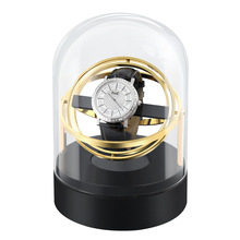 Automatic Watch Winder Box For Mechanical Watches Brand Fashion Single Watch Rotator Box Luxury Transparent Case Clock Winder