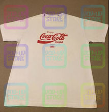 Streetwear kith ronnie fieg em torno de coca o mundo camiseta unisex tamanho S-3XL