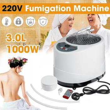 Generador de Sauna 3L para Sauna, generador de vapor, máquina de fumigación, vaporizador doméstico, terapia adecuada para barrica, calefacción de cocina, 1000W