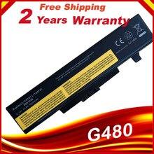 Новый аккумулятор для ноутбука LENOVO G580 Z380 Z380AM Y480 G480 V480 Y580 G580AM L11S6Y01 L11L6Y01, 6 ячеек
