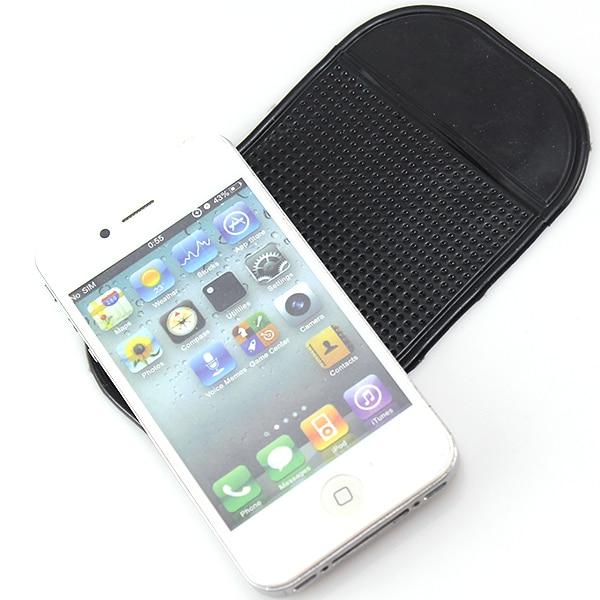 1Pcs Non Slip Grip Universal Car Dashboard Holder Mat Pad Storage Mat Phone GPS Car Black PVC Silicone Mat Accessories