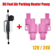 12V/24V Kraftstoff Pumpe 1KW 5KW Öl Kraftstoff Air Standheizung Pumpe Elektronische Puls Für Auto Air Diesels kraftstoff Pumpe Abdeckung Halter Halterung