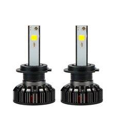 Voiture RVB led coloré APP contrôle phare antibrouillard H1 H3 H4 H7 H11 9004 9005 9006 9007 9012 880 6500K 6000Lm 72W IP68