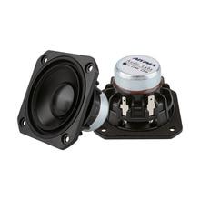 AIYIMA 2 sztuk 2.5 Cal głośnik pełnozakresowy sterownik 15W Audio gorączka głośniki muzyczny głośnik kolumna dla DIY kina domowego