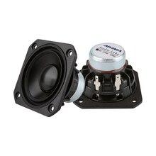 AIYIMA 2Pcs 2.5Inch Full Range Speaker Driver 15W Audio Fever Speakers Music Sound Loudspeaker Column For DIY Home Theater