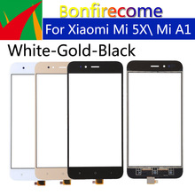 10Pcs TouchScreen For Xiaomi MI 5X \Mi A1 Mi5X MiA1 Touch Screen Panel Sensor LCD Display Glass Lens Panel Digitizer Replacement original used xiaomi mi a1 mia1 mi5x mi 5x m5x lcd display touch screen panel digitizer with frame assembly sensor replacement