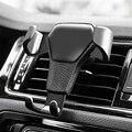 Универсальная Гравитация Авто Автомобильный держатель телефона для автомобиля, устанавливаемое на вентиляционное отверстие в салоне авто...