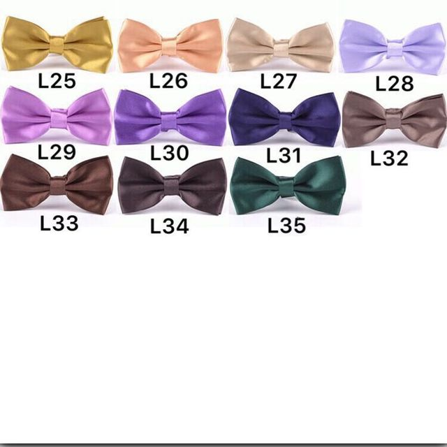 New Fashion Men's adult candy color Plain Bowtie men Tuxedo General Party Neckties Butterfly Bow tie 1000pcs/lot free shipping 1