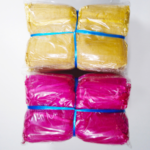 Image 4 - 1000pcs/lot 24 Colors Jewelry Bag 7x9 9X12 10x15 13x18cm Wedding Gift Organza Bags Jewelry Packaging & Display  Jewelry Pouches