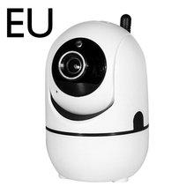 Hd 1080P pamięci masowej w chmurze bezprzewodowa kamera Ip inteligentny automatyczne śledzenie człowieka bezpieczeństwo w domu sieci nadzoru kamera Wifi tanie tanio ACEHE wireless Wideo i Audio NONE HD 1080 P CN (pochodzenie) white plastic 3 6mm 1080P US EU UK AU(optional)