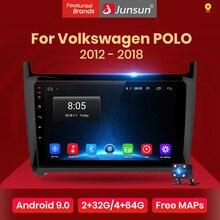 Junsun V1Android 9,0 2G + 32G DSP Auto Radio Multimedia Video Player Für VW Volkswagen POLO 2012-2018 limousine Navigation 2 din keine dvd