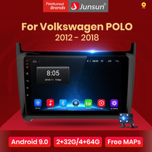 Junsun V1Android 9.0 2G + 32G DSP araç radyo multimedya Video oynatıcı VW Volkswagen POLO 2012- 2018 sedan navigasyon 2 din hiçbir dvd(China)