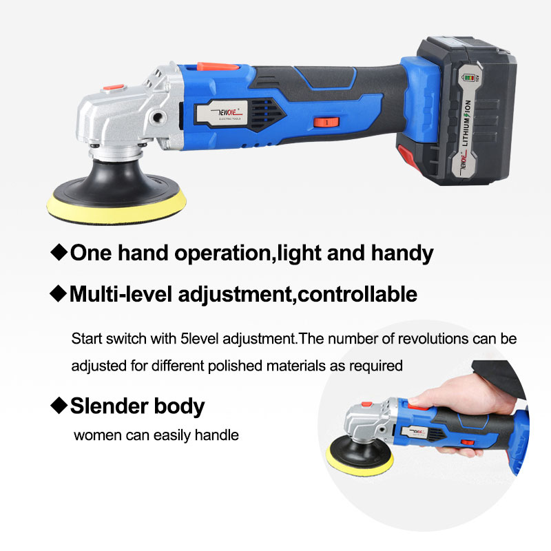 Li Battery Polishing Machine Battery Cleaning Floor With Polisher Ion NEWONE Shoe Cordless Tool Machine Power Car 16V Accessorie
