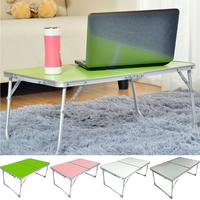 Foldable Metal Alloy Laptop Desk Stand Holder Notebook Picnic Outdoor Table Convenient Folding On the bed Desk Bedroom Tools