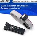 USB ISP USBISP USBASP ASP-программатор в алюминиевом корпусе для 51 ATMEL AVR WIN7 64 (случайный цвет)