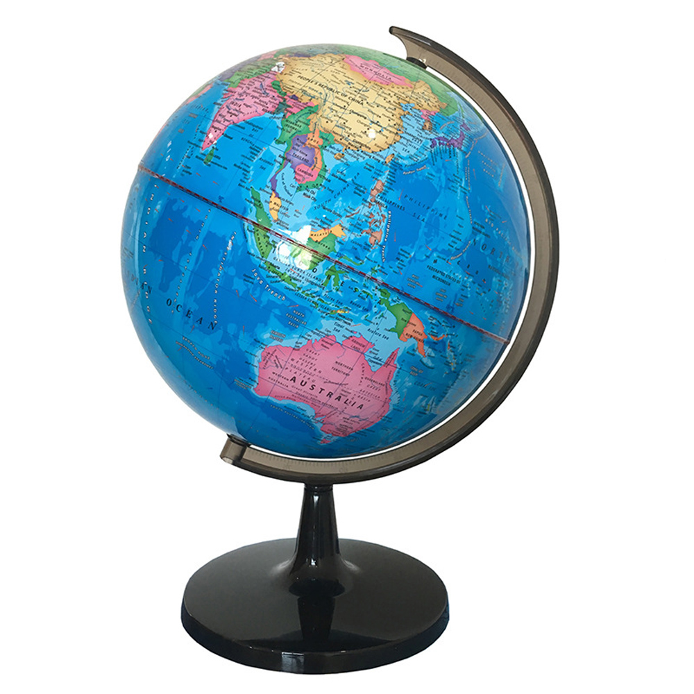 PVC Inflatable Earth Globe Home Decor Geographical Education Teaching Tools 38cm