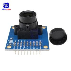 Image 5 - Le Module de caméra diymore OV7670 300KP prend en charge linterface I2C Compatible avec laffichage du contrôle dexposition automatique VGA CIF 640X480 pour Arduino