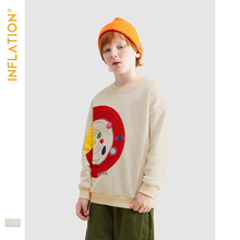 INFLATION 2019 Kids Pullover Sweatshirt Autumn Tops Long Sleeve Boys Girls Funny 19510A