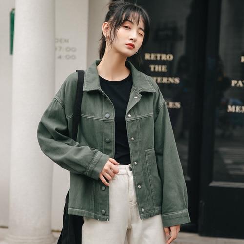 Fashion Mens Long Denim Trench Coat Slim Fit Jeans Parkas Korean Pockets Jackets
