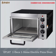 EP1AT electric pizza oven with timer single deck pizza oven with fire stone stainless steel big capacity bread cake bakery oven electric heating blast drying oven with stainless steel liner and digital display