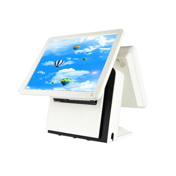 ComPOSxb high quality pos terminal 15 inch dual touch screen POS all in one with SSD64GB