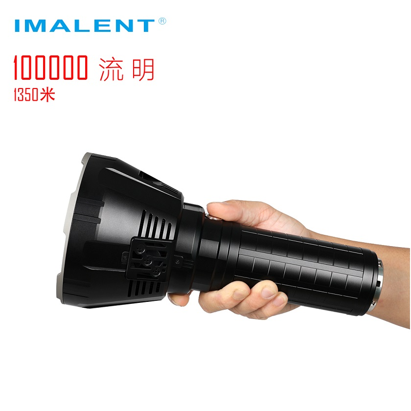 Image 3 - IMALENT MS18 LED Flashlight CREE XHP70.2 100000 LM Waterproof Flash light with 21700 Battery + OLED Display Intelligent Charging-in LED Flashlights from Lights & Lighting