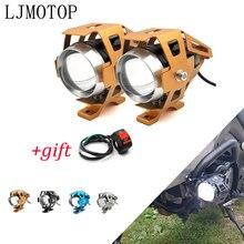 Motorrad 12V LED Scheinwerfer Hilfs Lampe U5 Scheinwerfer Motorrad Für Honda NC750S NC750X nc 750 750x NC700S NC700X
