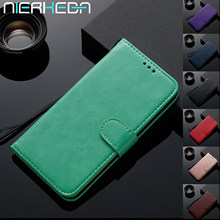 Luxury Leather Flip Phone case For Huawei P20 P30 Pro Mate 30 10 20 Pro Lite P smart Plus Y6 Y9 2019 Magnetic Wallet Stand Cover(China)