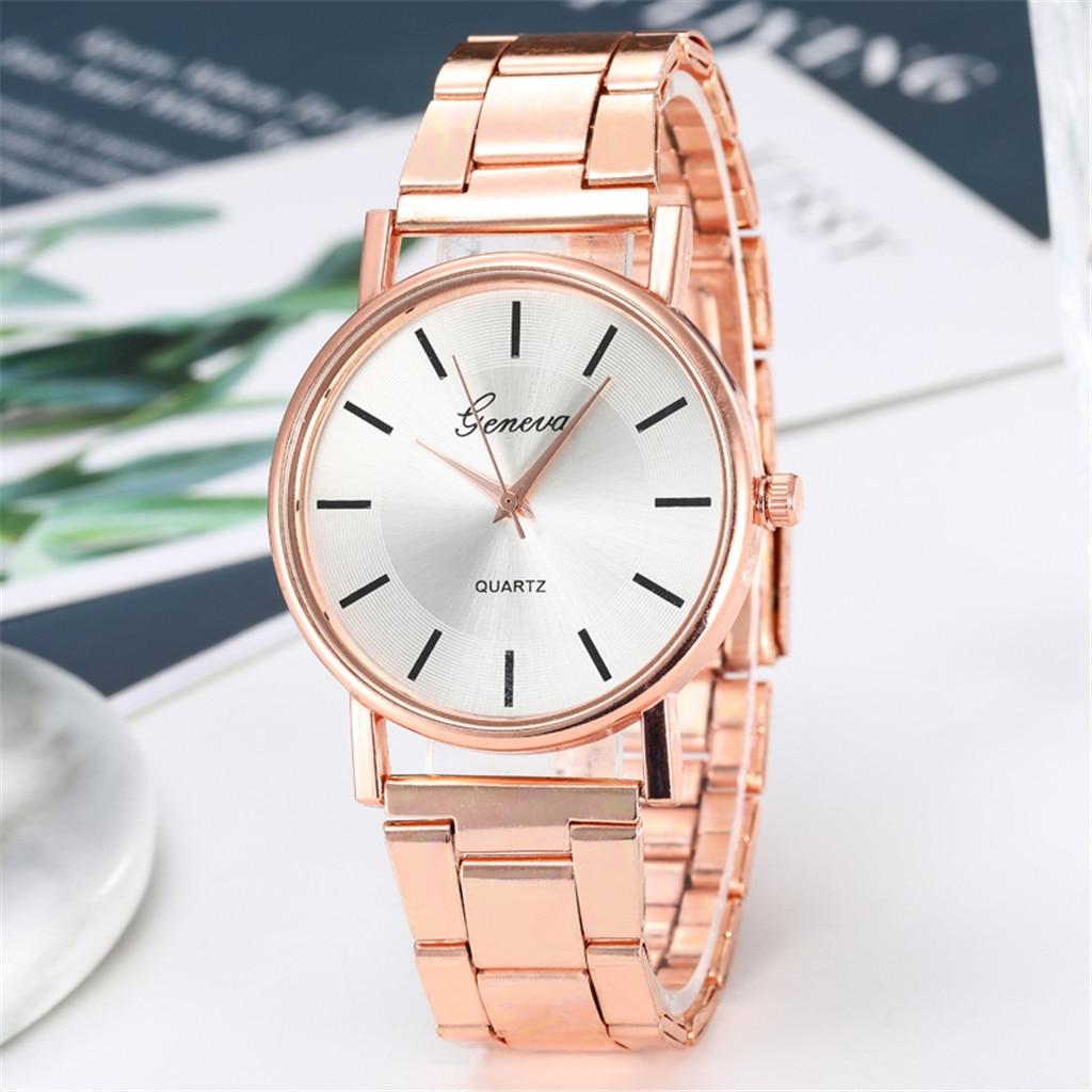 Women Watches Ladies Quartz Watch Luxury Watches Quartz Watch Stainless Steel Dial Casual Bracele Watch Droshipping