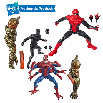 Hasbro Spider-man Marvel Legends Series Far From Home 6-Inch Spider Women Collectible Action Figure Collection For Girl And Boys 14cm super hero spider man pvc action figures toys far from home spiderman figure toys spider man collectible model toy kid gift