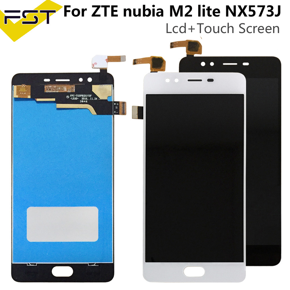 For ZTE nubia M2 lite NX573J LCD Display and Touch Screen Assembly Phone Accessories For ZTE nubia M2 lite +Tools And Adhesive(China)