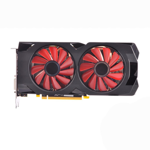 Image 2 - XFX AMD Radeon RX 570 8GB 그래픽 카드 GPU RX570 8GB DDR5 256Bit PC 비디오 카드 데스크탑 컴퓨터 게임 OW PUBG 비디오 카드 사용
