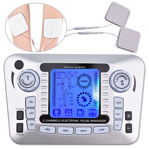 Image 1 - Electrical Nerve Relax Muscle Stimulator Acupuncture Fat Burner Pain Relief Electronic Pulse Massager Tens EMS Slimming Machine