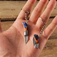 EDC Keychain Multi-Tools Mini Knife Hanging Small Unboxing Outdoor Portable Folding Blade