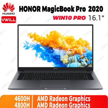 16.1 inch Original HUAWEI HONOR Magicbook Pro 2021 Laptop Notebook AMD Ryzen r5-4600H/r7-4800H Windows 10 Pro English 1