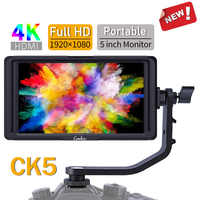 Camkoo CK5 5 Inch IPS DSLR Camera Field Monitor 4K HDMI FHD 1920x1080 DC Output LCD Monitor for Sony Nikon Canon Cameras