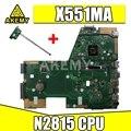 X551MA материнская плата N2815 CPU RAM для For Asus X551M D551M X551M материнская плата для ноутбука X551MA материнская плата X551MA материнская плата Тест 100% OK