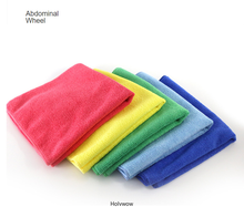 2PCS 40*40cm Super Microfiber Car Cleaning Towels Automobile Motorcycle Washing Glass Car Cleaning Small Towels