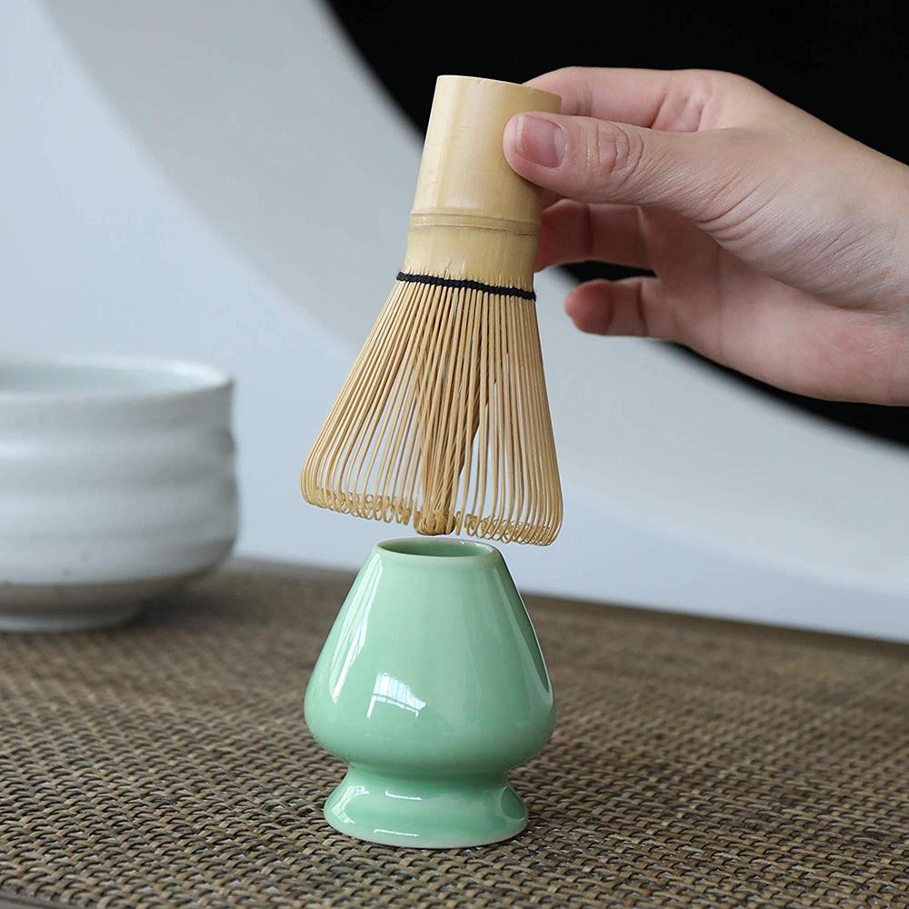1 шт. бамбуковый набор зеленого чая Матча, венчик для пудры в японском стиле, приготовление зеленого чая, кисть матча