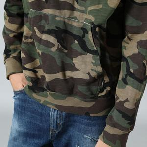 Image 2 - SIMWOOD 2020 spring winter hooded Camouflage hoodies men fashion sweatshirts jogger track clothes plus size streetwear SI980675