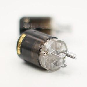 Image 4 - Cặp Đôi P004 + C004 Mạ Rhodium Mỹ Cắm Điện Hifi Mỹ Dây Nguồn Cắm + IEC Nữ Cổng Kết Nối