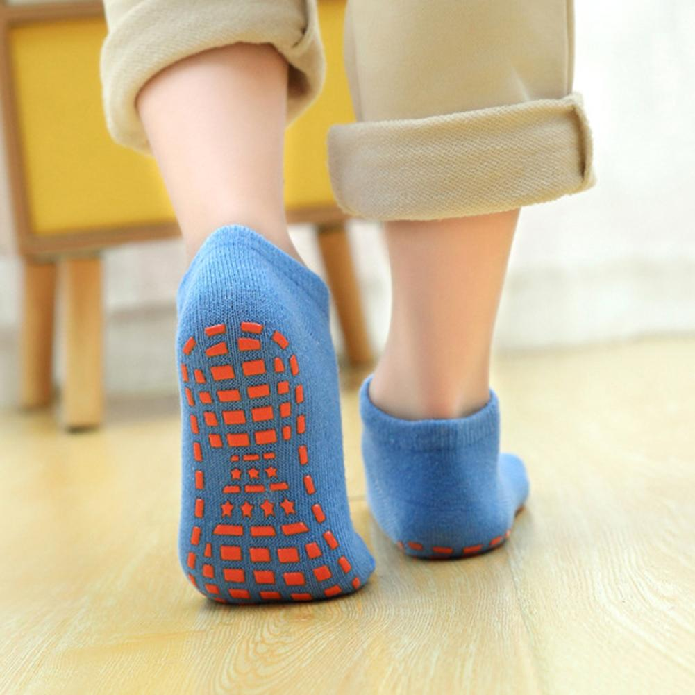 Autumn/Winter/Spring/Summer Thin And Breathable Non-slip Floor Socks Boy And Girl Towel Socks Home Socks Cotton Candy Color Fluf