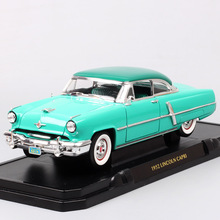 1:18 Scale Road Signature classic luxury ford 1952 Lincoln Capri sedan diecast & vehicles model cars toy Replicas for collection