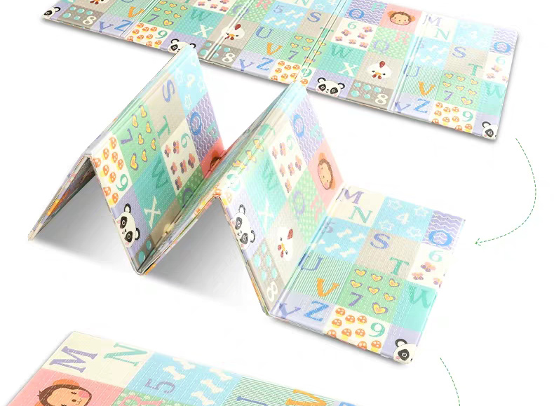 Hfe9a339b2dce4992ba687a095ee9d5859 Miamumi Portable Baby Play Mat XPE Foam Double Sided Playmat Home Game Puzzle Blanket Folding Mat for Infants Kids' Carpet Rug