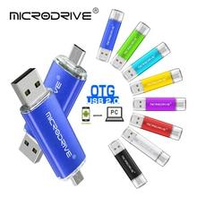 Nova OTG USB 2.0 flash drive gb gb 8 16 32gb 32gb 64 metal memory stick pendrive 128 gb pen drive drive usb vara Flash disk micro