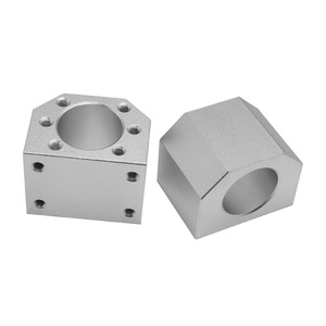 Image 3 - 2 pcs ballscrew SFU2505 397mm + סוף תמיכה bkbf20 + coulpings + אגוז דיור DSG25H עבור cnc מכונת