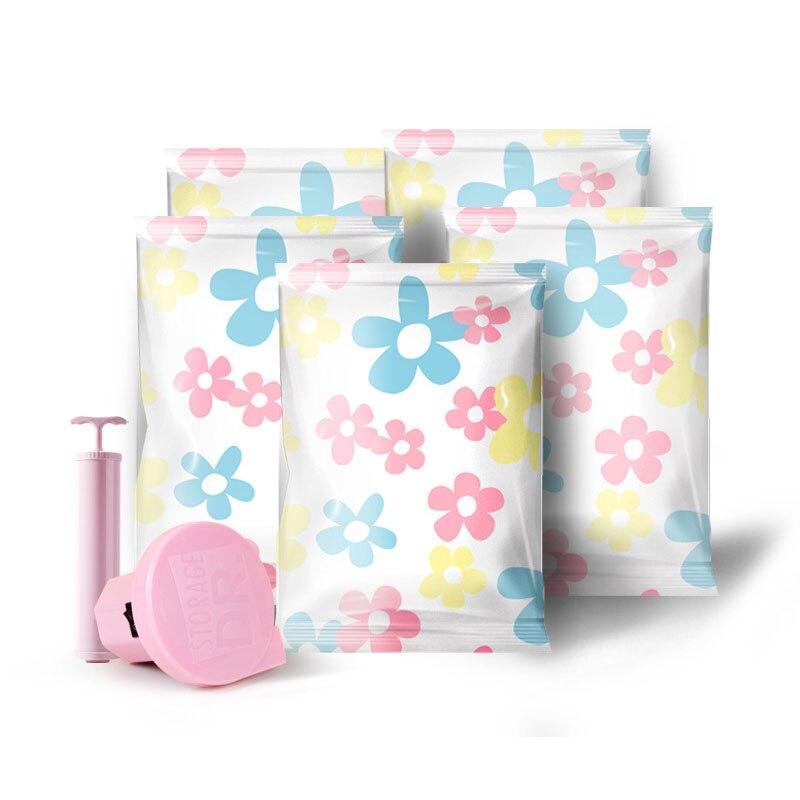 Вакуумная сумка для хранения, Домашний Органайзер, печать, складной органайзер для одежды, уплотнение, сжатое для экономии места в путешествии, сумки, посылка